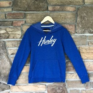 Excellent Condition!  Hurley Blue Hoodie SzL